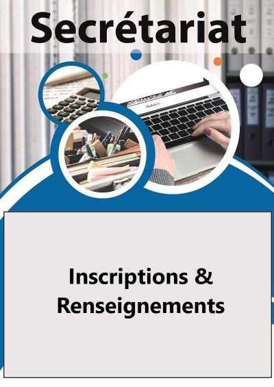Inscriptions & renseignements